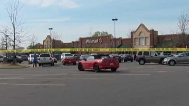 Shots fired at NC Walmart