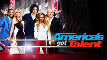 """America's got Talent: Tuesdays and Wednesdays at 8:00 pm. With the talent search open to acts of all ages, """"America's Got Talent"""" has brought the variety format back to the forefront of American culture by showcasing performers from across the country. The series is a true celebration of the American spirit, featuring a colorful array of hopeful stars, including singers, dancers, comedians, contortionists, impressionists, jugglers, magicians and ventriloquists, all vying for their chance to strut and perform on stage hoping to win America's hearts and the $1 million prize.Hosts: Heidi Klum, Howard Stern, Howie Mandel, Mel B, and Nick Cannon."""