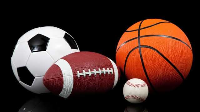 soccer, football, baseball, basketball balls, sports