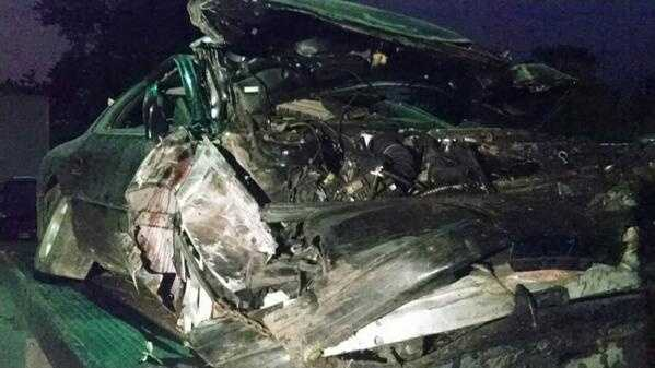 Jamestown chase crash image