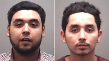 Christopher Gutierrez, left, and Dominick Gutierrez, right