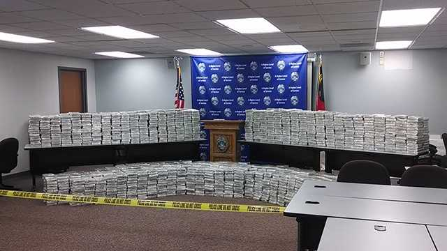 Nearly 3,000 pounds of marijuana was seized from a warehouse in Kernersville recently.