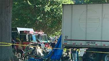 Deadly crash at Iredell County rest area