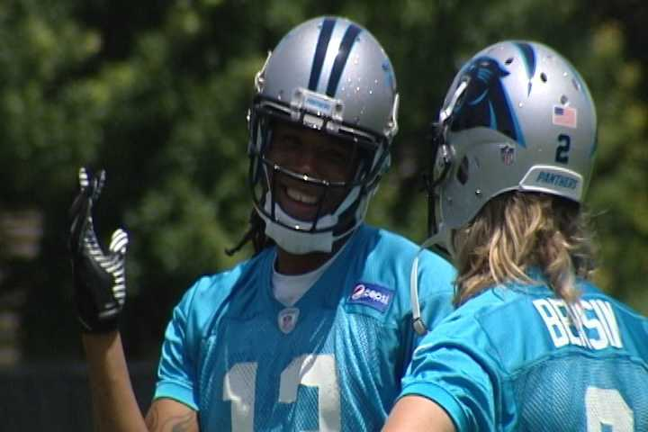 Carolina Panthers Rookie Minicamp in Charlotte - Panthers top pick, Kelvin Benjamin