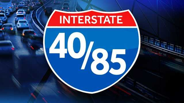 Interstate 40 and Interstate 85
