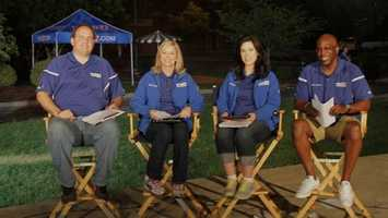 """WXII Celebrates Randolph County today -- check out some """"behind the scenes"""" photos and join the fun!"""
