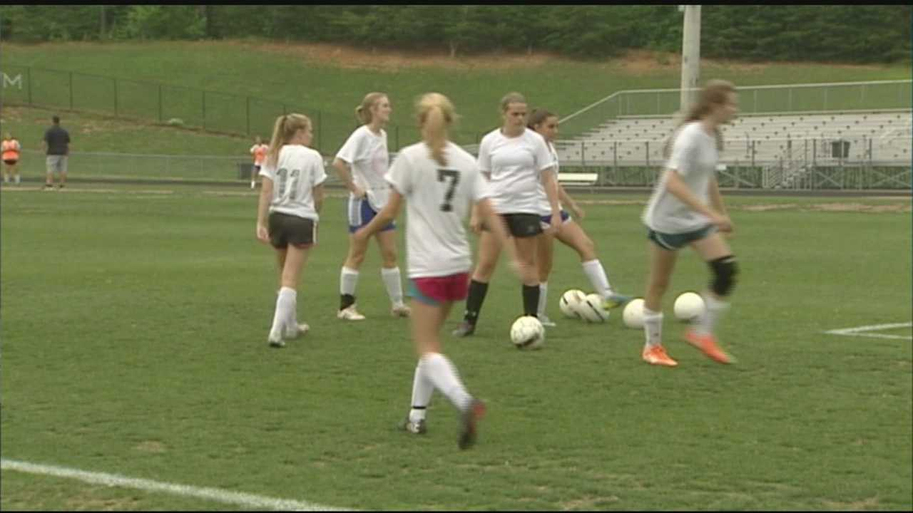 The Lady Wildcats are the final prepping stages for their shot at a state championship in the NCHSAA Women's 2A Soccer this Saturday at 11am in the campus of NC State.