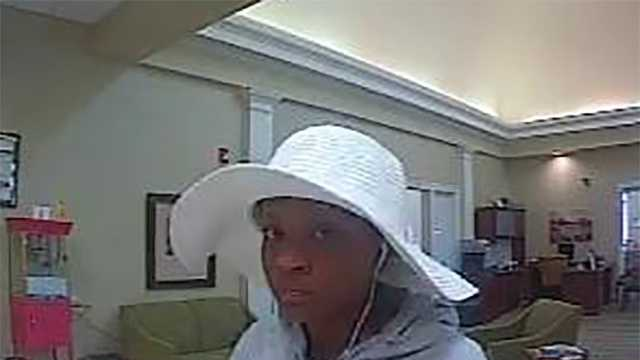 Surveillance image of Kernersville attempted bank robbery suspect