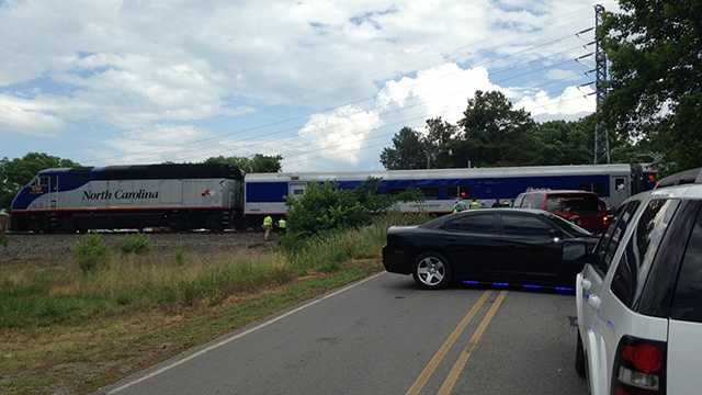 Pedestrian hit by train in Burlington