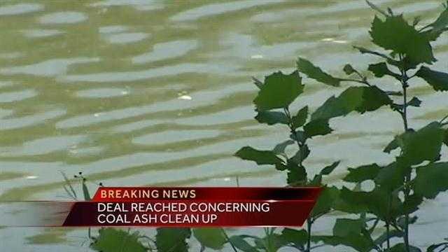 Coal Ash Breaking News Imag