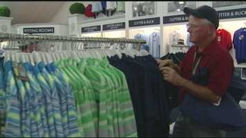 """Merchandise Paradise"" at Pinehurst. 