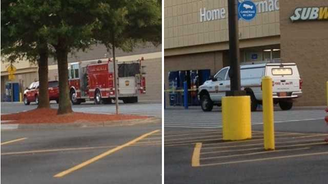 A fire at the Walmart on Kester Mill Road Sunday has been called an arson. The store was closed for about two hours.