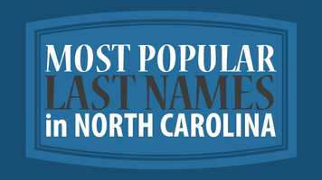 Is your last name distinguished? Find out if your last name is the Top 20.