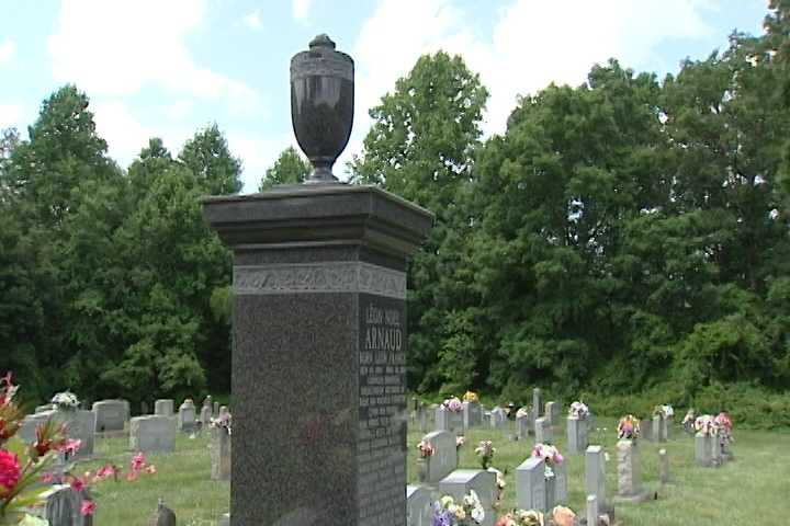 """4, Arnaud's grave: Leo Arnaud is best known for """"Bugler's Dream,"""" also known as the Olympic theme song. The French-American married a woman from Hamptonville and spent the rest of life there."""