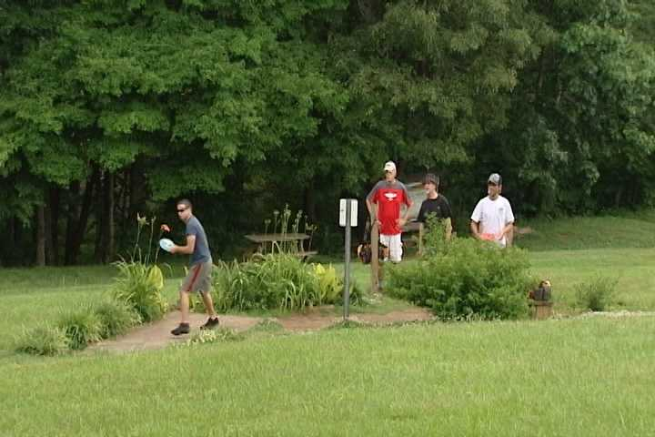 10. Yadkin County Park features baseball fields, volleyball pit, disc golf, etc. It also houses the Veterans Memorial.