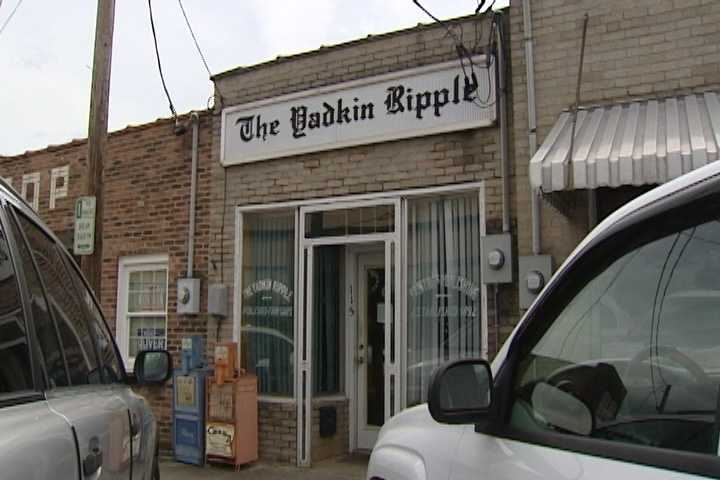 14. The Yadkin Ripple first published in October 1892 in East Bend and covers all of Yadkin County. The paper's original publisher decided on the name because of the water rippling over a fallen rock dam in the Yadkin River.