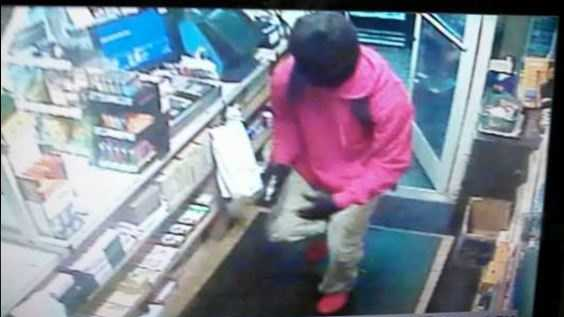 This is a photo of one of the suspects wanted in connection with an armed robbery and shooting at a convenience store in Guilford County.