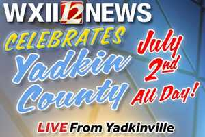 Join us Wednesday, July 2 as WXII Celebrates Yadkin County! In the meantime, here are some Fun Facts about Yadkin County. Enjoy!
