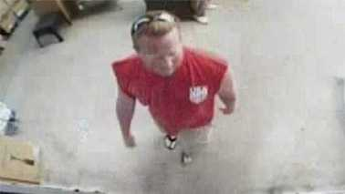 Surveillance image of indecent exposure suspect in Statesville Walmart