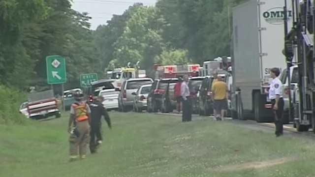 Crash on Highway 52 near Highway 66