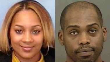 Bianca Richardson Tanner, left, and Angelo Grayson Smith, right
