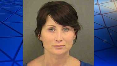 Arrest photo of Amy Robinson. Police believe Amy Arrington was an alias.