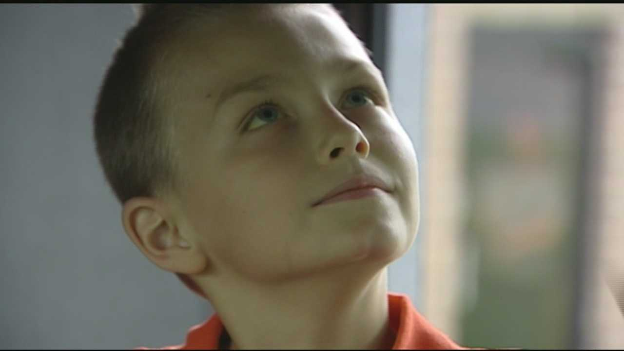 7-year-old boy's mission to raise money for treatment