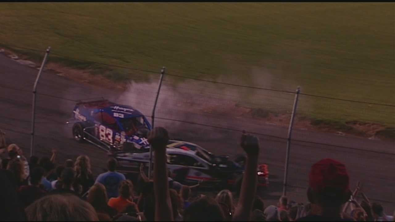 The raw - uncut video of the second altercation between Tim Brown and Burt Myers from Bowman Gray Stadium this past Saturday night.