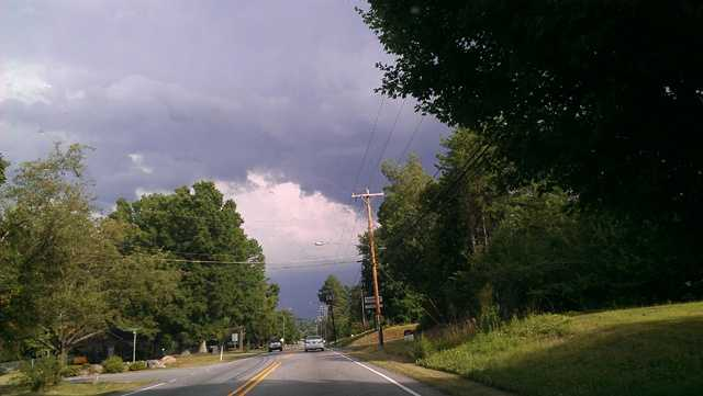 Hwy 109 in Winston Salem, NC - July 2014