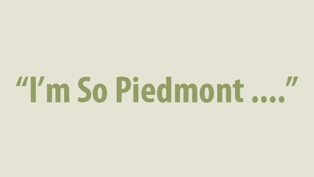 We asked you how Piedmont you were, and you told us! Take a trip down memory lane as we reminisce about days past in NC.