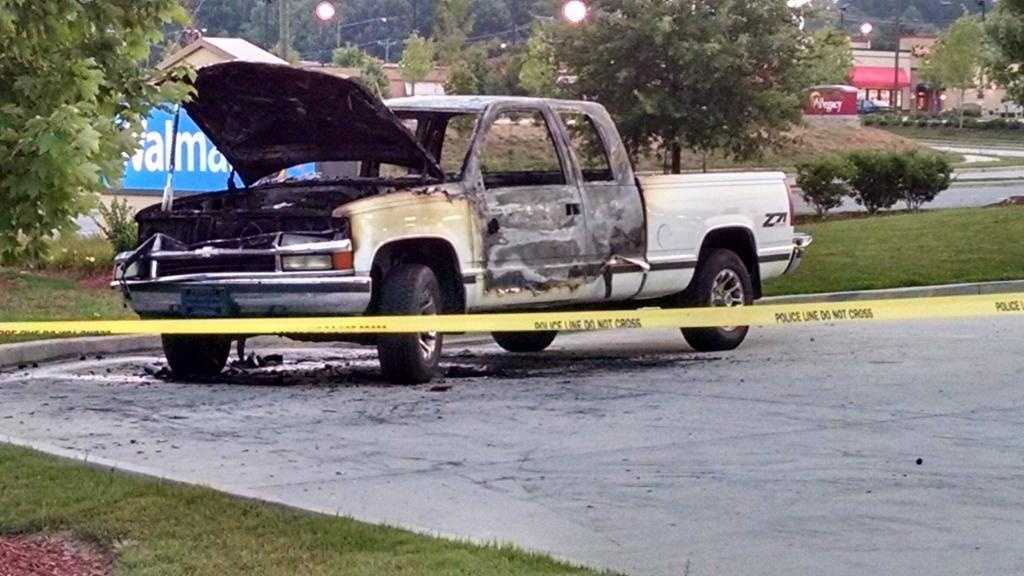 Winston-Salem police are investigating a fire they say was intentionally set to a truck.
