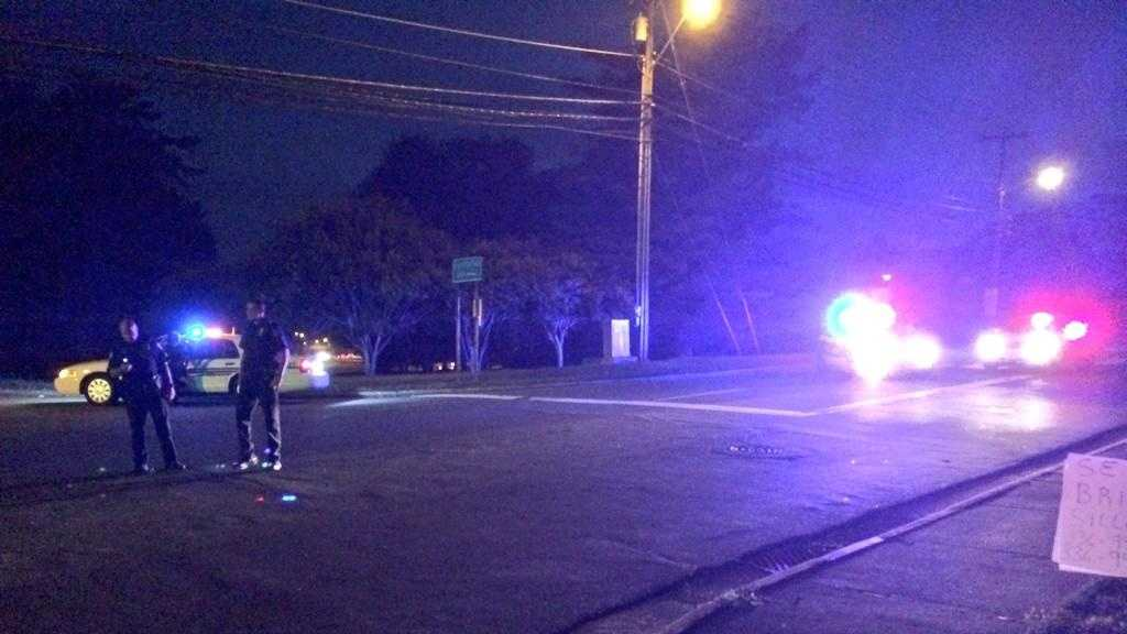 Police say a vehicle and a pedestrian were involved in an accident on Country Club Road.