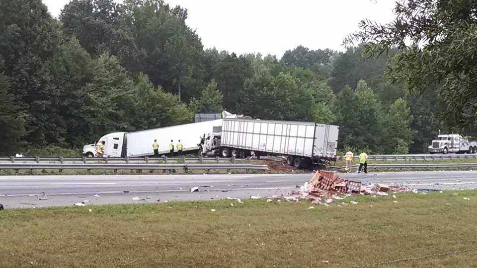 Interstate 40 accident