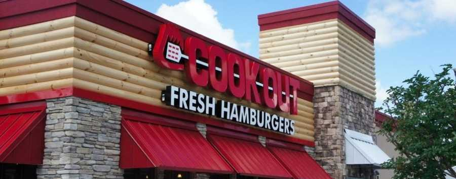 10. Cook Out