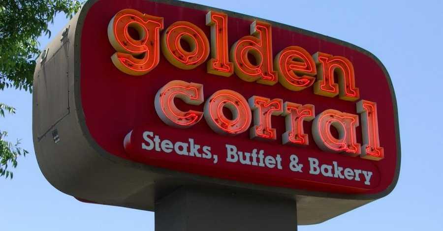 14. Golden Corral