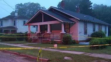 A 2-year-old was shot and killed at this home in Weldon.