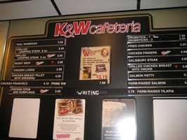 3. K&W Cafeteria