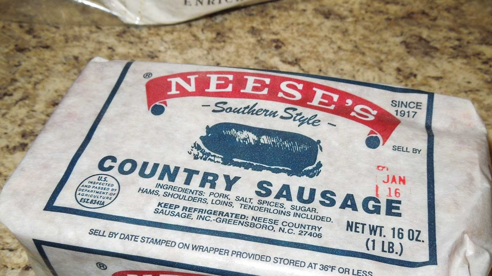 1.Neese's Country Sausage
