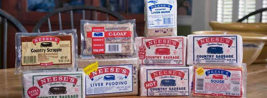 "By 1917, J.T. Neese was selling sausage and delivering it in a ""prairie schooner"" covered wagon in the Triad. Today, Neese's Country Sausage is still located in Guilford County."
