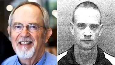 Kent Hinkson, left, and Matthew Reed, right