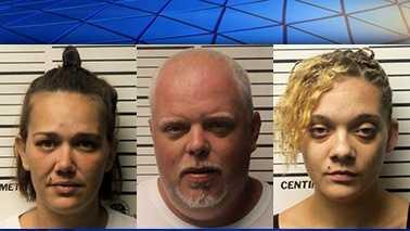 Jessica Bullard, Rodney Lewis and Tiffany Lynch