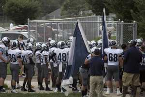 East Forsyth Eagles pre-game