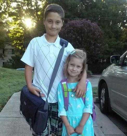 5th grade and Kindergarten.