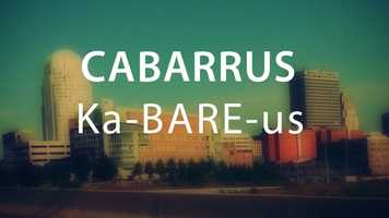 Cabarrus County