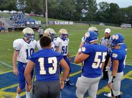 Elkin vs North Surry Coin Toss