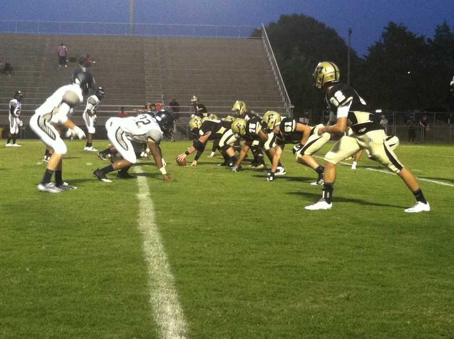 RJR vs Chase Football