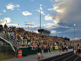 Packed stands at West Forsyth