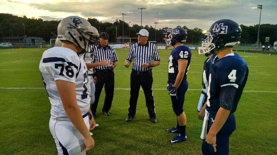 Coin toss, Carrroll Co. at Mt. Airy