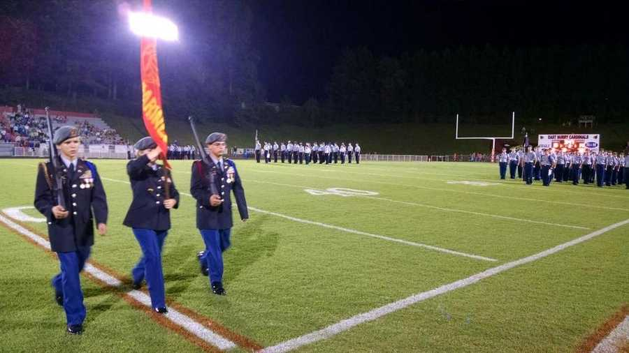 East Surry military appreciation night.