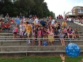 Forbush Students&#x3B; photo by Elkin Tribune.
